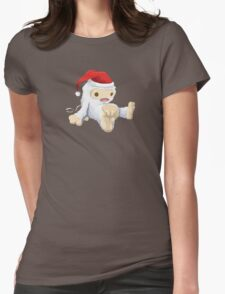 Glitchmas Yeti (Collectors Edition) - glitch videogame Womens Fitted T-Shirt