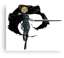 Clare of Claymore Canvas Print
