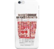 Coffee to go! iPhone Case/Skin