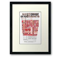 Coffee to go! Framed Print