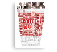 Coffee to go! Canvas Print