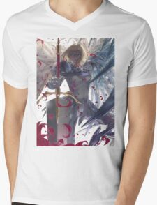 Anime Clare - Claymore Mens V-Neck T-Shirt