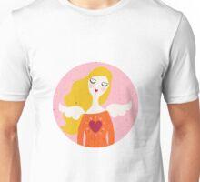Angel girl- virgo horoscope Unisex T-Shirt