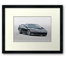 Acura NSX 'Studio' I Framed Print