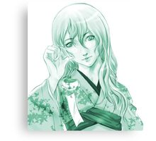 Flora - Claymore Canvas Print