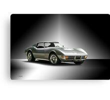1971 Corvette Stingray 427 ZR1 Canvas Print
