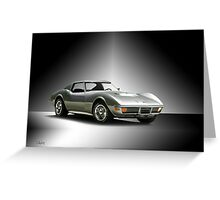 1971 Corvette Stingray 427 ZR1 Greeting Card