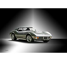 1971 Corvette Stingray 427 ZR1 Photographic Print