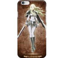 blonde teresa - claymore iPhone Case/Skin