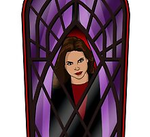Evil Regal at the window. by Anna Welker