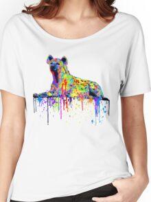Bleeding Africa Women's Relaxed Fit T-Shirt