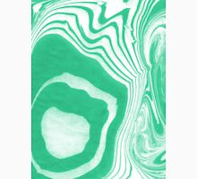 Akihiko spilled ink abstract watercolor marble paper marbling ocean water waves sea minimal marbled marbled paper art print waves surfing green emerald deep  Classic T-Shirt