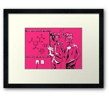 Pink boys Framed Print