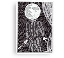 moonlight shakespeare Canvas Print