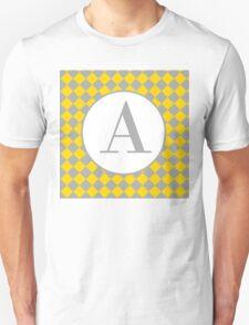 A Checkered Unisex T-Shirt