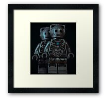 Cybermen Framed Print