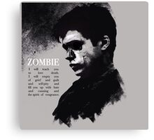 The 5th Wave  Ben Parish/Zombie quotes Canvas Print