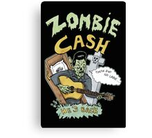 Zombie Cash Canvas Print