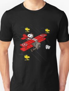 snoopy flaying T-Shirt