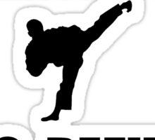 Black Belt Refusal Sticker