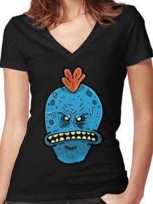 I'm Mr. Meek Seeks Women's Fitted V-Neck T-Shirt