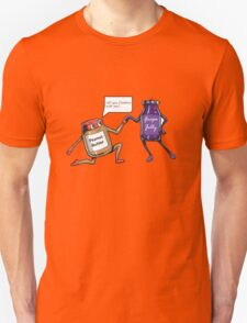 Peanut Butter and Jelly Marriage Proposal  Unisex T-Shirt