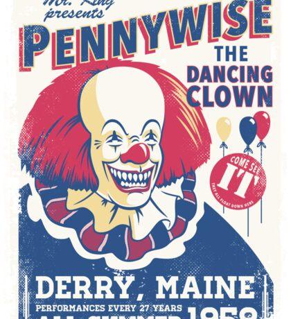 The Dancing Clown Sticker