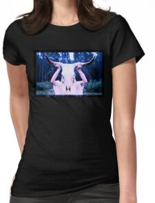 Horn Womens Fitted T-Shirt