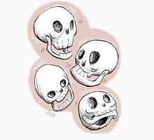 Four Skulls in Pastel Pink Women's Tank Top