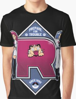 Prepare For Trouble Graphic T-Shirt