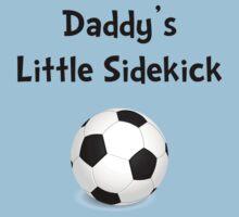 Daddy's Sidekick Soccer Baby Tee
