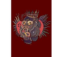 Conor Mcgregor Gorilla Tattoo (maroon) Photographic Print