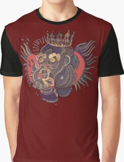 Conor Mcgregor Gorilla Tattoo (maroon) Graphic T-Shirt