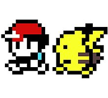 pokemon yellow 8 bit Photographic Print
