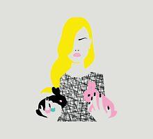 Vogue style woman with two rabbits - gemini horoscope Unisex T-Shirt