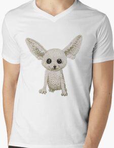 Fennec fox Mens V-Neck T-Shirt