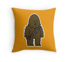 Mitesized Wookie Throw Pillow