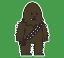 Mitesized Wookie Baby Tee