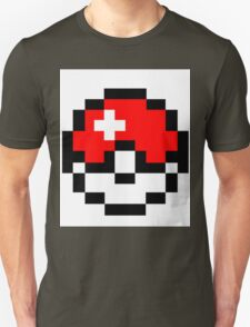 pokemon 8 bit pokeball Unisex T-Shirt