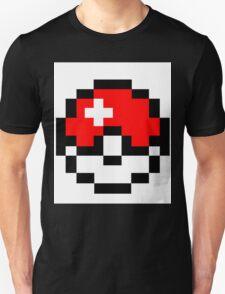 pokemon 8 bit pokeball T-Shirt