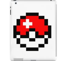 pokemon 8 bit pokeball iPad Case/Skin