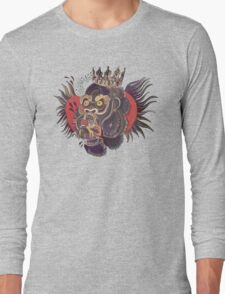 Conor Mcgregor Gorilla Tattoo (grey) Long Sleeve T-Shirt