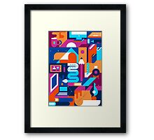 Creative Process Framed Print