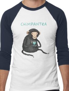 Chimpantea Men's Baseball ¾ T-Shirt
