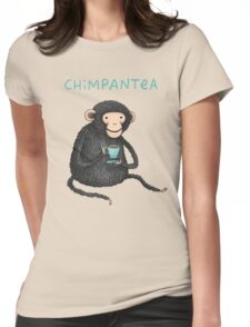 Chimpantea Womens Fitted T-Shirt