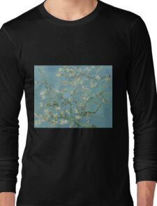 Almond blossom - Vincent Van Gogh  Impressionism  Famous Paintings Long Sleeve T-Shirt