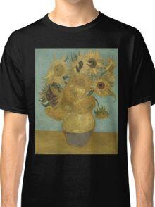 Vincent Van Gogh  - Sunflowers , Impressionism , Fine Art Classic T-Shirt