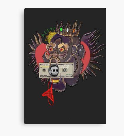 Red Panty Night - Conor McGregor (grey) Canvas Print
