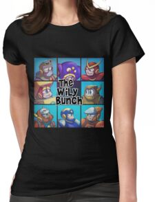 0032 - The Wily Bunch Womens Fitted T-Shirt