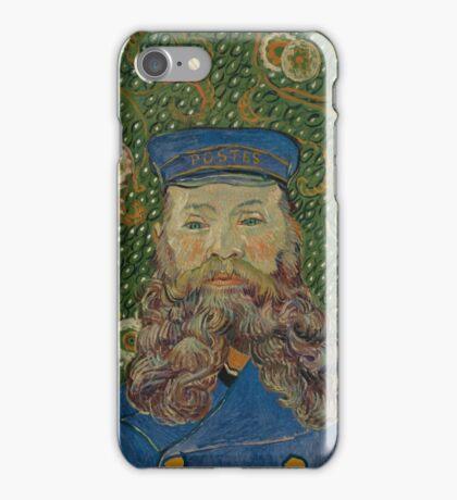 Vincent Van Gogh - Portrait of Joseph Roulin, 1889 iPhone Case/Skin
